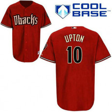 Arizona Diamondbacks #10 Justin Upton Red Cool Base Jersey