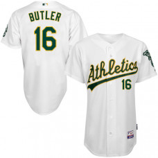 Oakland Athletics #16 Billy Butler White 6300 Player Authentic Jersey