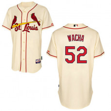 St. Louis Cardinals #52 Michael Wacha Authentic Cream Alternate Cool Base Jersey