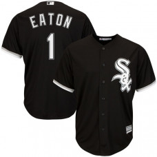 Chicago White Sox #1 Adam Eaton Black Cool Base Jersey