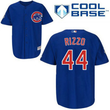 YOUTH Chicago Cubs #44 Anthony RizzoAuthentic Royal Blue Alternate Cool Base Jersey