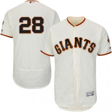 San Francisco Giants #28 Buster Posey Cream Flexbase Authentic Collection Jersey