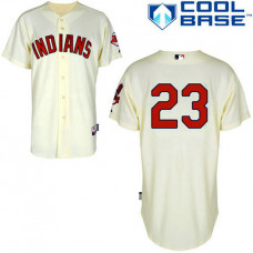 Cleveland Indians #23 Michael Brantley Authentic Cream Alternate Cool Base Jersey