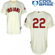 Cleveland Indians #22 Jason Kipnis Authentic Cream Alternate Cool Base Jersey