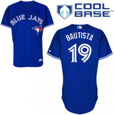 YOUTH Toronto Blue Jays #19 Jose BautistaBlue New Cool Base Jersey