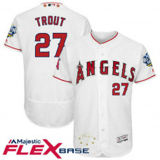 Los Angeles Angels Mike Trout #27 White 2016 All-Star Game Signature Flex Base Jersey