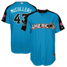 2017 All-Star American League Houston Astros Lance McCullers #43 Blue Home Run Derby 2017 All-Star American League Jersey