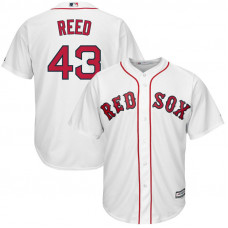 Addison Reed #43 Boston Red Sox Home White Cool Base Jersey
