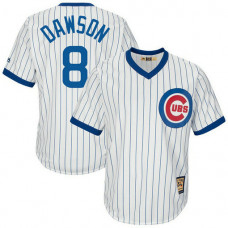 Andre Dawson #8 Chicago Cubs Replica Cooperstown White Cool Base Jersey