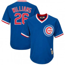 Billy Williams #26 Chicago Cubs Replica Cooperstown Royal Cool Base Jersey
