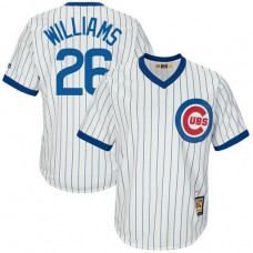Billy Williams #26 Chicago Cubs Replica Cooperstown Collection White Cool Base Jersey