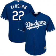 Los Angeles Dodgers #22 Clayton Kershaw Replica Alternate Royal Cool Base Jersey