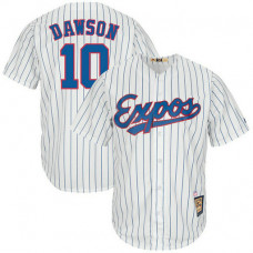 Andre Dawson #10 Montreal Expos Replica Cooperstown Collection White Cool Base Jersey