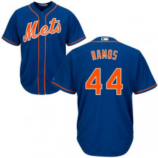 A.J. Ramos #44 New York Mets Alternate Royal Cool Base Jersey