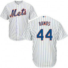 A.J. Ramos #44 New York Mets Home White Cool Base Jersey