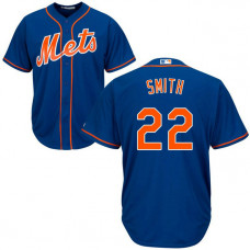 Dominic Smith #22 New York Mets Alternate Royal Cool Base Jersey