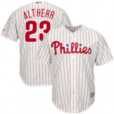 Aaron Altherr #23 Philadelphia Phillies Replica Home White Cool Base Jersey
