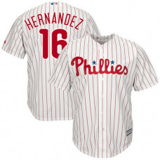 Cesar Hernandez #16 Philadelphia Phillies Replica Home White Cool Base Jersey