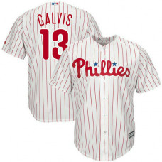 Freddy Galvis #13 Philadelphia Phillies Replica Home White Cool Base Jersey