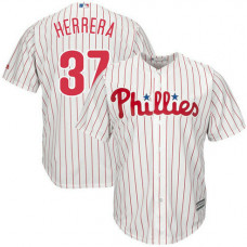 Odubel Herrera #37 Philadelphia Phillies Replica Home White Cool Base Jersey