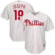 Philadelphia Phillies #19 Tommy Joseph Home White Cool Base Jersey