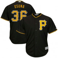 Jose Osuna #36 Pittsburgh Pirates Replica Alternate Black Cool Base Jersey