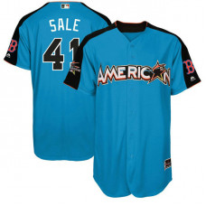 2017 All-Star American League Boston Red Sox Chris Sale #41 Blue Home Run Derby 2017 All-Star American League Jersey