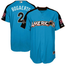 2017 All-Star American League Boston Red Sox Xander Bogaerts #2 Blue Home Run Derby 2017 All-Star American League Jersey