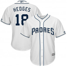 Austin Hedges #18 San Diego Padres Home White Cool Base Jersey