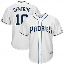 Hunter Renfroe #10 San Diego Padres Replica Home White Cool Base Jersey