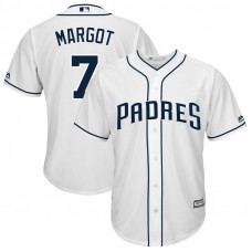 Manuel Margot #7 San Diego Padres Replica Home White Cool Base Jersey