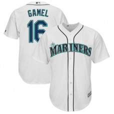 Ben Gamel #16 Seattle Mariners Replica Home White Cool Base Jersey