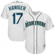 Seattle Mariners #17 Mitch Haniger Home White Cool Base Jersey