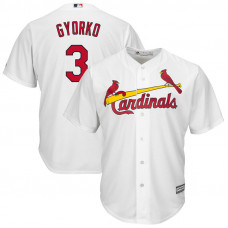 Jedd Gyorko #3 St. Louis Cardinals Replica Home White Cool Base Jersey