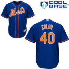 Cool Base New York Mets #40 Bartolo Colon Jersey