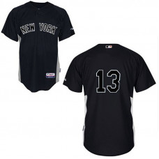 YOUTH New York Yankees #13 Alex RodriguezBlack Jersey