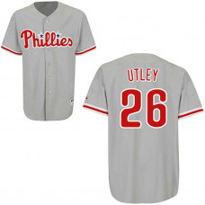YOUTH Philadelphia Phillies #26 Chase UtleyCream Alternate Home Jersey