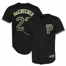 Pittsburgh Pirates #22 Andrew McCutchen Black Fashion Jersey