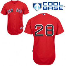 YOUTH Boston Red Sox #28 Adrian GonzalezRed Cool Base Jersey