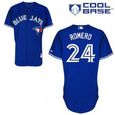 YOUTH Toronto Blue Jays #24 Ricky RomeroBlue New Cool Base Jersey