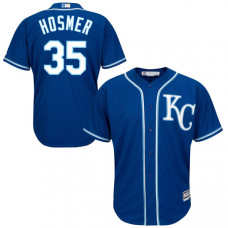 YOUTH Kansas City Royals Eric Hosmer Royal Official Cool Base Jersey
