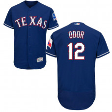 Texas Rangers #12 Rougned Odor Alternate Royal Authentic Collection Flex Base Jersey