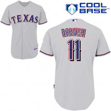 Texas Rangers #11 Yu Darvish Grey Cool Base Jersey