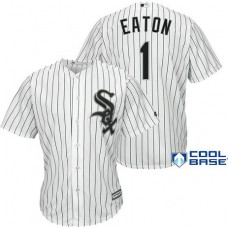 Chicago White Sox #1 Adam Eaton White Cool Base Jersey