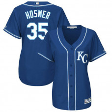 Women - Kansas City Royals #35 Eric Hosmer Alternate Royal Cool Base Jersey