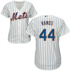 Women - A.J. Ramos #44 New York Mets Home White Cool Base Jersey