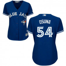 Women - Toronto Blue Jays #54 Roberto Osuna Alternate Royal Cool Base Jersey