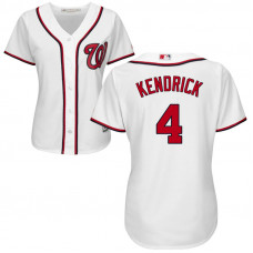 Women - Washington Nationals #21 Brandon Kintzler Home White Cool Base Jersey