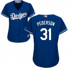 Women - Los Angeles Dodgers Joc Pederson #31 Royal Official Cool Base Jersey