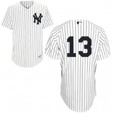 YOUTH New York Yankees #13 Alex RodriguezWhite Home Jersey